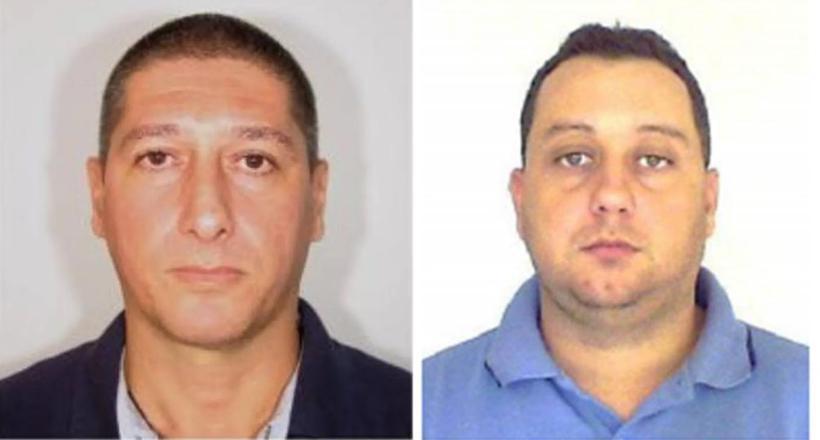 Ronnie Lessa, apontado como autor dos disparos contra Marielle, e Élcio Queiroz, suspeito de dirigir o carro. Foto: Divulgação/PCERJ