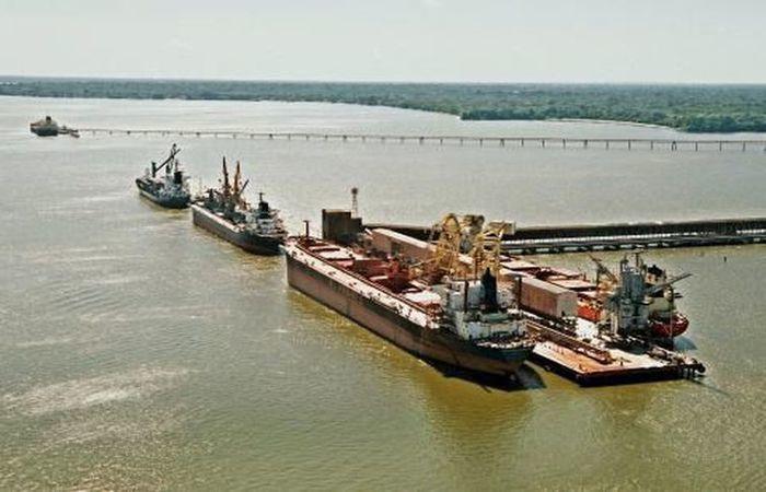 Porto de Vila do Conde, no Pará Portal. Foto: CDP/Divulgação