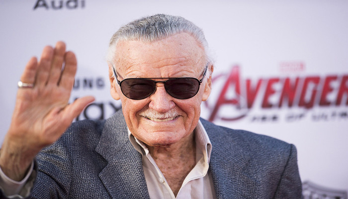 Stan Lee, lenda dos quadrinhos e produtor executivo, morreu em 2018 aos 95 anos. Foto: Robyn Beck/AFP Photo