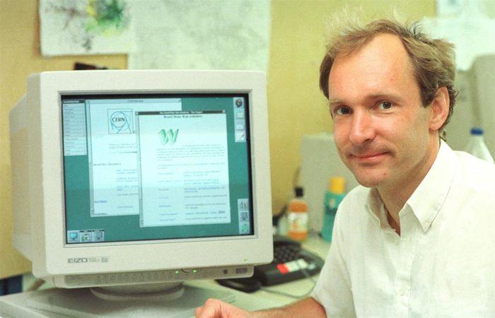 O inventor da internet, Tim Berners-Lee, lançou uma campanha para salvar a Web - Foto: CERN/Divulgação