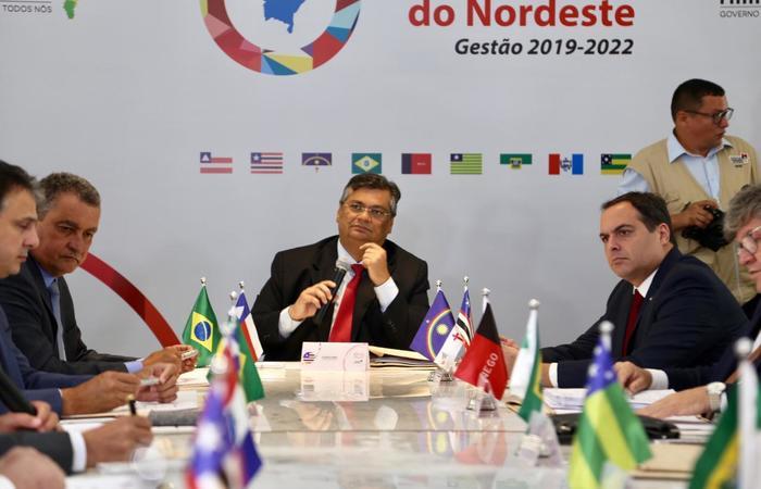 Governador de Pernambuco, Paulo Câmara, marca presença no encontro. (Foto: Divulgação / Governo do Maranhão)