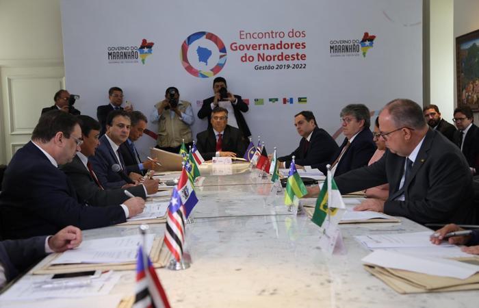 Encontro acontece no Palácio dos Leões, em São Luís do Maranhão (Foto: Divulgação / Governo do Maranhão)