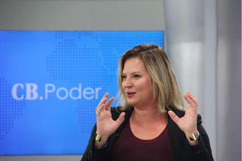 """Para Joice Hasselmann, proposta """"está boa"""" e não deve atrapalhar discussões da PEC do sistema previdenciário. Foto: Bárbara Cabral/Esp. CB/D.A Press"""