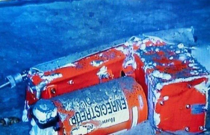 Uma das caixas-pretas da aeronave só foi encontrada dois anos depois do acidente. Foto: Johann Peschel / ECPAD / BEA / AFP