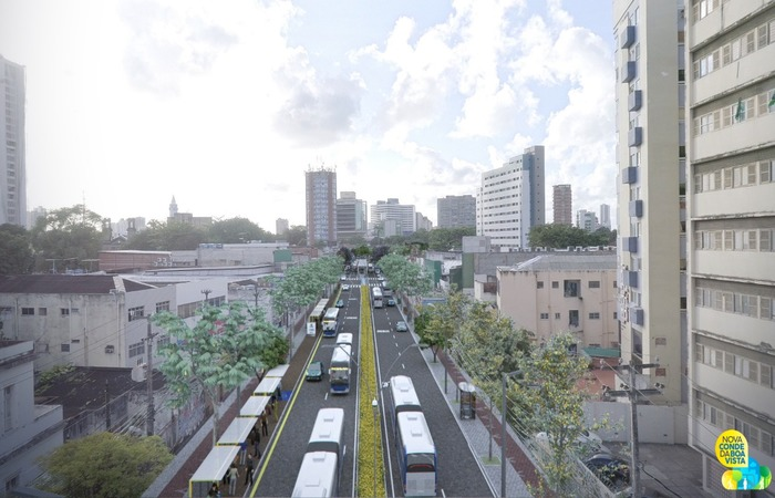 A requalificação deve começar em abril e terminar em dezembro de 2020. Imagem: Prefeitura do Recife/Divulgação