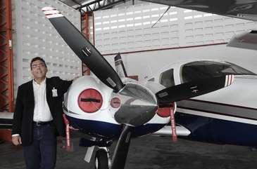 O aluguel de pequenas aeronaves começa a se consolidar como um novo mercado na cidade do Recife  (Alcione Ferreira/ DP/ D.A. Press/Esp.DP/D.A Press)