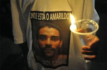 Promotores acompanharam nas buscas pelo corpo do ajudante de pedreiro no Aterro Sanitário de Seropédica, no Rio (Fernando Frazao/ABr)