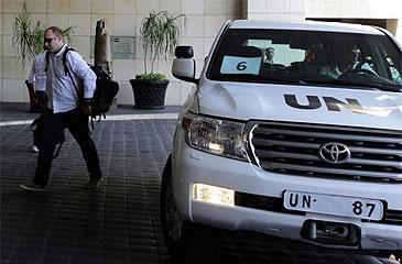 No 21, 750 pessoas morreram na periferia de Damasco, capital síria, supostamente por uso de agentes químicos (AFP Photo)