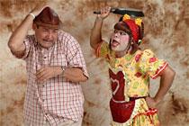 Dupla faz sessões extras de Briga de marido e mulé ninguém mete...a colher! neste fim de semana (Ricardo Lopes/Divulgação)