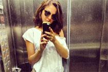 Atriz está em Petrolina para gravações da minissérie Amores roubados, da TV Globo (isisvalverde/Instagram/Reprodução)