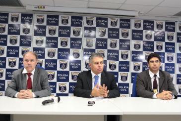 Cúpula da Polícia Civil revela que investigações continuam e outros vereadores podem ser presos  (Nando Chiappetta/DP/D.A Press)
