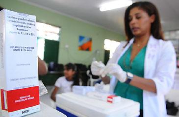 Inclusão do imunizante no calendário vacinal oficial vai onerar significamente os custos do programa de vacinação (Monique Renne/CB/D.A Press)