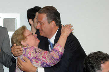 Eleita prefeita de São Paulo pelo PT, ela hoje centra fogo contra seu ex-partido e coloca em xeque a gestão de Dilma  (Carlos Moura/CB/D.A Press)