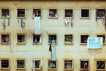 No banco dos reús, estão 26 dos 79 policiais acusados pela morte de 111 detentos em penitenciária de São Paulo (Itamar Miranda/Agência Estado/AE)