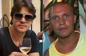 Bruno Tenório (E) atropelou o corredor inglês Gavin Duffy no sábado nos Emirados Árabes e tentou fugir para o Líbano (Facebook/Reprodução)