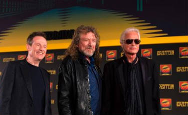 Lend�ria banda brit�nica Led Zeppelin divulga m�sicas in�ditas  (Adrian Dennis/AFP Photo )