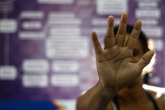 Mulheres vítimas de violência ganham sala de acolhimento (Rafael Martins/Estúdio DP)