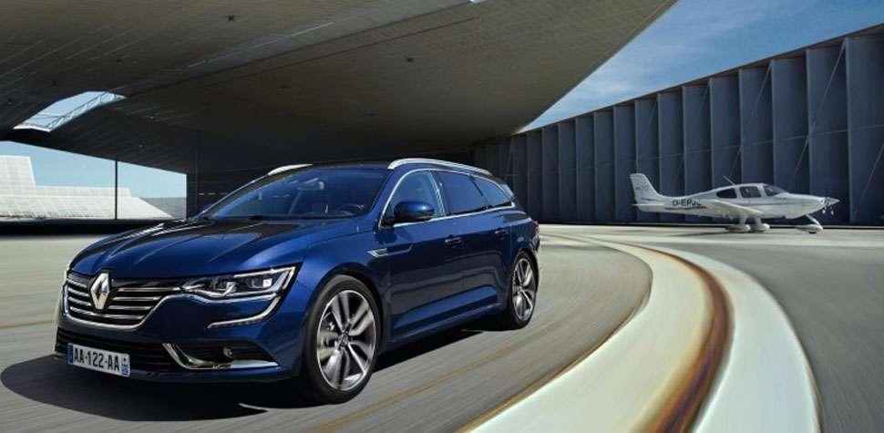 Renault divulga imagens da perua Talisman (Renault/Divulga��o)