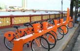 Usu�rios poder�o usar bicicleta por duas horas (Nando Chiappetta/DP/D.A Press)