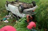 Grave acidente deixa dois mortos (WhatsApp/Cortesia)