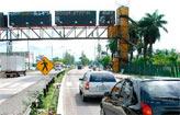 DER desliga lombadas eletr�nicas nas rodovias (Cecilia de Sa Pereira/ Esp/ Arquivo DP/ D.A.Press)