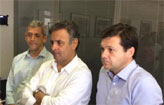 Prefeito se re�ne com A�cio e anuncia creche (T�rcio Amaral/DP/D.A Press)