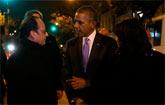 Obama diz que � hora de salvar o mundo (�lys�e %u2013 Pr�sidence de la R�publique fran�aise)