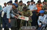 Falha mec�nica causou queda de avi�o ( Adek Berry/AFP )