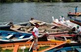 Rio Capibaribe ganha barqueata (Projeto ReCapibaribe/Divulga��o)