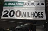 Apostas para Mega-Sena v�o at� �s 18h (Luiz Fernando Motta/EM/D.A.Press)