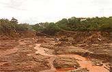 Acidente liberou metais t�xicos do rio (Leandro Couri/EM/D.A. Press)
