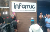 Dom Saburido aben�oa inaugura��o do Infomuc (Maira Baracho/DP/D.A Press)