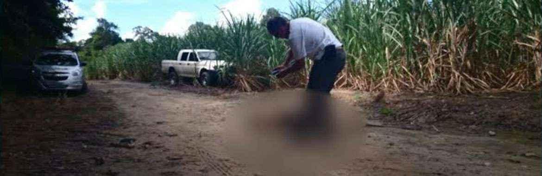 Marido de vítima de sequestro e estupro reconhece corpo no IML (TV Clube/Reprodução)