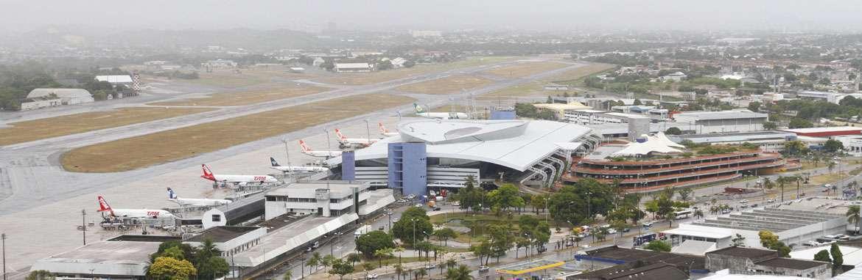 Dilma garante �rea da For�a A�rea no Aeroporto para o hub (Paulo Paiva/DP/D.A Press)