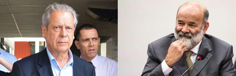 PF indicia Dirceu, Vaccari e mais 13 investigados na opera��o (Fabio Rodrigues Pozzebom/ Marcelo Camargo/ Ag�ncia Brasil)
