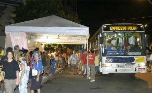 Veja quais coletivos levam voc� at� os pontos de carnaval (DP/D.A. Press)