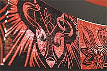 Gravura, desenho e origami estão entre as plataformas adotadas pelo artista em À sombra leve dos anjos (Annaclarice Almieda/DP/D.A Press)
